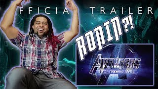 Marvel Studios' Avengers: Endgame Official Trailer Reaction!!!
