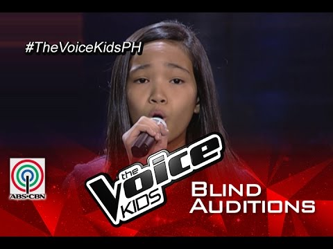 "The Voice Kids Philippines 2015 Blind Audition: ""On My Own"" by Jhyleanne"