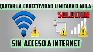 Quitando La Conectividad Limitada O Nula Sin Acceso A Internet