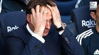 Real Madrid SACKS Julen Lopetegui After Embarassing Defeat Against Barcelona