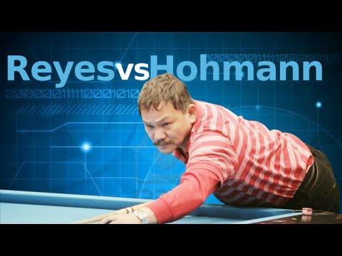Efren Reyes Vs. Thorsten Hohman at the Super Billiards Expo
