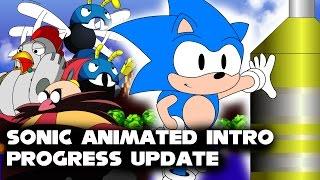 Sonic 1 Animated Intro(Progress Update)