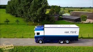 VAN HERK SCANIA R450 OLDSCHOOL COMBI