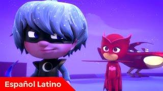 Pj Masks heroes en pijamas en español latino episodio 14 ululette y el buho de la generosidad