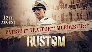 RUSTOM  MOVIE 2016 | Akshay Kumar, Ileana D'Cruz, Esha Gupta | Promotional Event