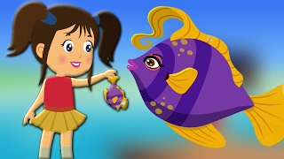 Machli Jal Ki Rani Hai Hindi Poem | मछली जल की रानी है | Kids Tv India | Hindi Nursery Rhymes