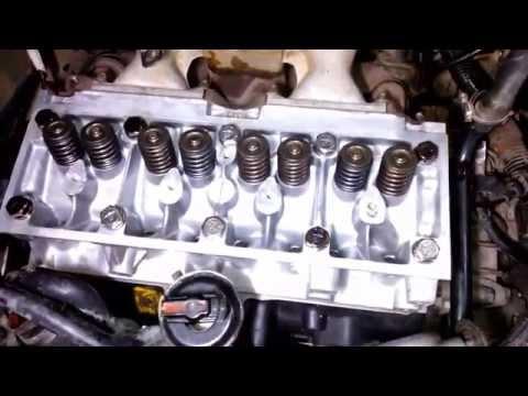 Montagem do cabeçote do Clio I motor C3L
