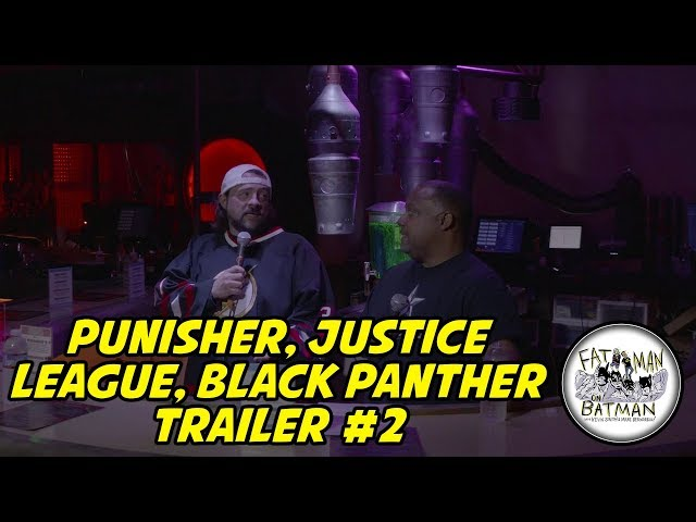 PUNISHER, JUSTICE LEAGUE, BLACK PANTHER TRAILER #2