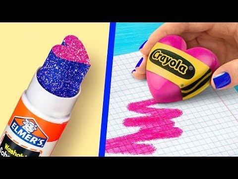 Xxx Mp4 11 Fun DIY School Supplies Valentine's Day Special 3gp Sex