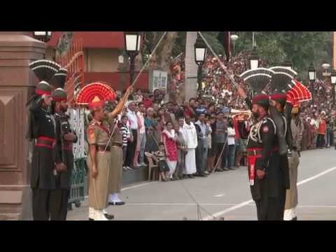 Wagah Border Pakistan HD