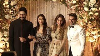 Aishwarya Rai Bachchan, Sonam Kapoor At Karan Singh Grover-Bipasha Basu Wedding Reception | Part 2
