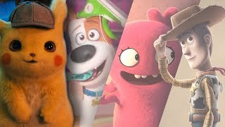 Trailer Compilation Review: Detective Pikachu, Toy Story 4, Secret Life of Pets 2 | Butch Hartman