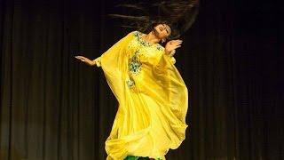 "Carmen Fragoso Khaleegy dance to ""Dag el Many""/أغنية دق ألماني رقص خليجي للراقصه كارمن"