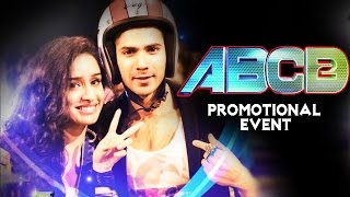 ABCD 2 Movie (2015) Promotional Events | Varun Dhawan, Shraddha Kapoor, Prabhudeva