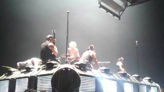 RAMMSTEIN - ass fucking on stage  ?! (live @ Valhall arena, Oslo, feb 2012)