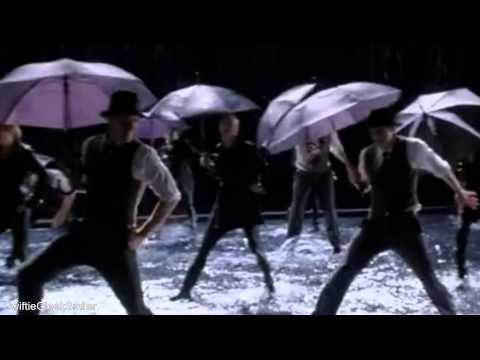 GLEE Singing In The Rain Umbrella Full Performance Official Music Video
