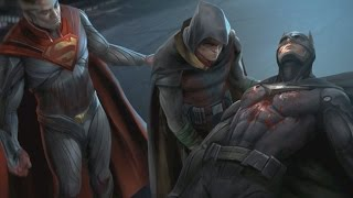 INJUSTICE 2 All Batman Intros, Clashes Dialogue and Banter