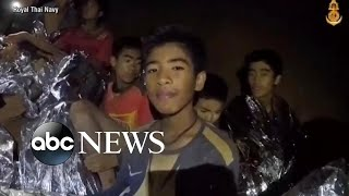 Effort to rescue Thai soccer teammates and coach trapped in cave continues