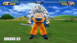 All transformations: Goku, Vegeta, Gohan, Trunks, Goten, Cell - DBZ BUDOKAI TENKAICHI 3
