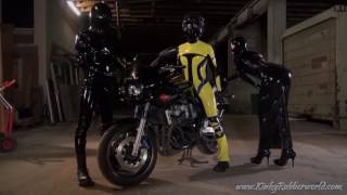 Fetish Nelja and the Latex Bikers