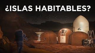 ISLAS HABITABLES EN MARTE