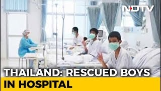 Watch: First Visuals Of Thai Boys In Hospital After Being Rescued From Cave