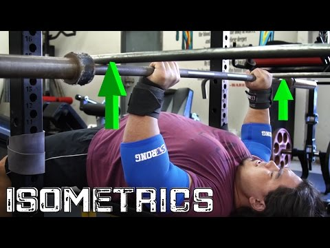 BENCH LIKE A BEAST: Utilizing Isometric Movements ft. JailHouse Strong