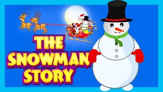 THE SNOWMAN - HARRY | HARRY THE HAPPY SNOWMAN - STORY FOR KIDS | SANTA AND THE SNOWMAN