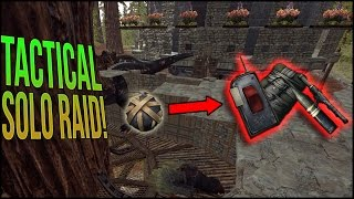 TACTICAL SOLO RAID | ARK Official PvP Solo - Ep.5