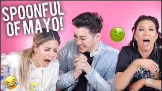 SPOONFUL OF CONDIMENTS CHALLENGE! Ft. Jaclyn Hill and Laura Lee!