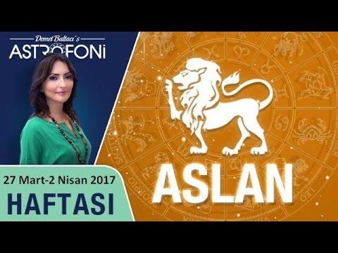 Aslan Burcu Haftalık Astroloji Yorumu 27 Mart-2 Nisan 2017
