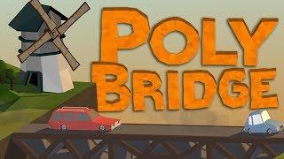 تحميل لعبة بناء الجسور Poly Bridge  بحجم صغير و رابط مباشر| ممتعة و للأذكياء