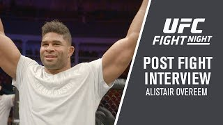 """UFC St. Petersburg: Alistair Overeem - """"I Was Very Relaxed, I Saw Everything Coming"""""""
