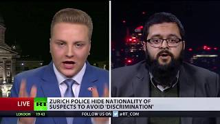 Zurich police hide nationality of suspects to avoid 'discrimination