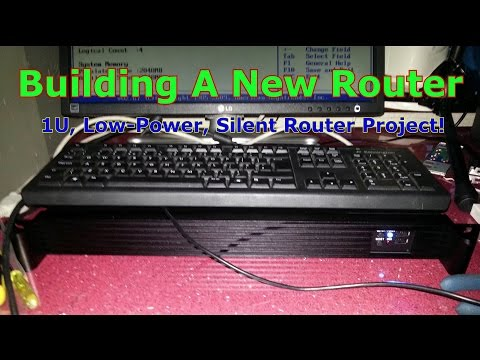 Building My New pfSense Router / Firewall - Low Power, Silent & Small 1U 19