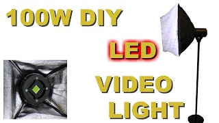 DIY LED Video light