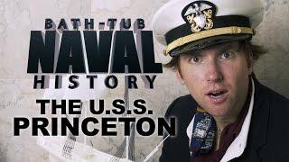 Bath Tub Naval History - USS Princeton