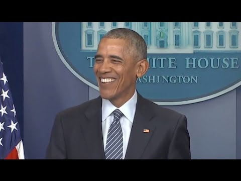 watch Obama First Press Conference Since Trump Election | Full Presser