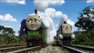 Hero Of The Rails: Spencer Chases Thomas And Hiro (With Alternate Music)