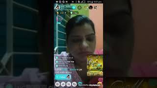 রেশমি এলন একটা হিজরা 'ভোদা কালা মাগি   Bigo live call aunty