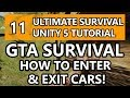 11. Unity Tutorial - How to make a Survival Game - GTA Survival Enter & Exit Cars!