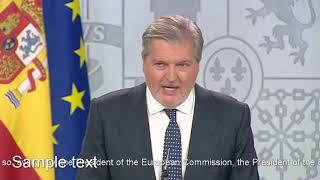 Mendez de Vigo vows extra enforcements to Catalonia