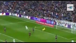 كريستيانو رونالدو و بنزيما  وضياع هدف مؤكدة من مبارة  ريال مدريد وريال سوسيداد 2015-2016