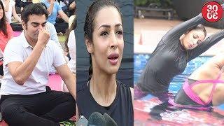 Ex Couple Malaika-Arbaaz Avoid Each Other | Yami Indulges In Aqua Yoga