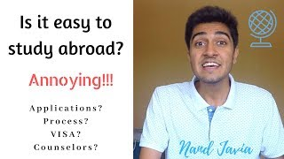 Is Studying Abroad Easy? | Nand Javia