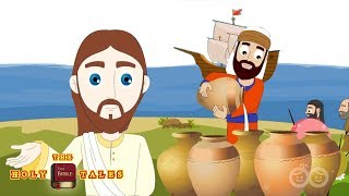 Miracles Of Jesus | Stories Of Jesus | Bible Story for Children | Holy Tales Bible Stories
