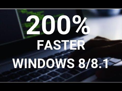 Make your Windows 8 8.1 Run Super Fast