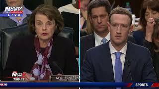 PART 1: Facebook CEO Mark Zuckerberg Testifies At Senate Judiciary Committee (FNN)