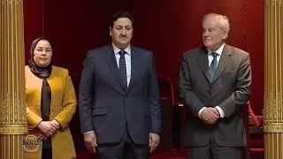 """فيديو.. هكذا تم استقبال عبد الصمد قيوح في مجلس """"السينا"""" الفرنسي"""