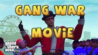 GTA 5 THUG LIFE GANG WAR MOVIE | CRIPS VS BLOODS